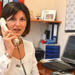 Giusy Cascio risponde al telefono