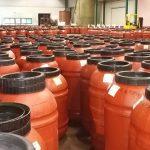 altri recipienti di olio